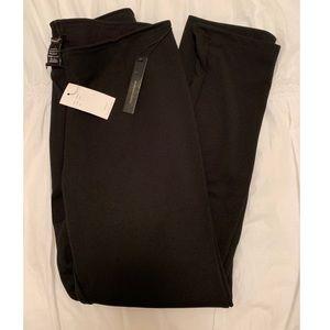 NWT BCBG black skinny leg dress pants
